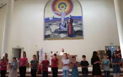 Blagoslov kipa Srca Isusova u Orašju