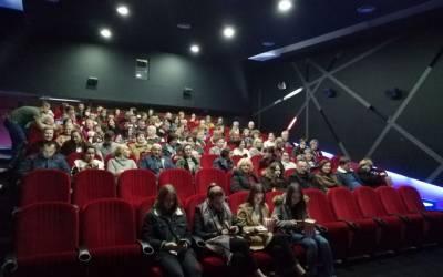 """SVJETOVNI FRANJEVCI NA PROJEKCIJI FILMA """"NAJVEĆI DAR"""""""